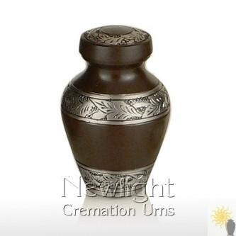 Delphi Cocoa Mini Urn (3inch)