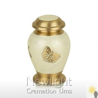 Pearl Butterfly Mini Urn (3inch)