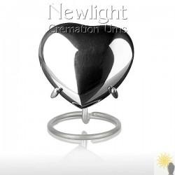 Silver Tear (3inch Heart)