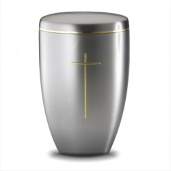 Golden Cross Urn