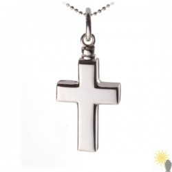 Mayfair Cross - Sterling Silver Ash Pendant