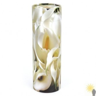 Peace Lilies Scattering Tube (large)