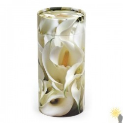 Peace Lilies Scattering Tube (small)