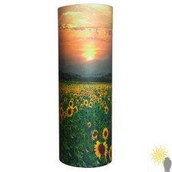Sunflowers Scattering Tube (med/large)