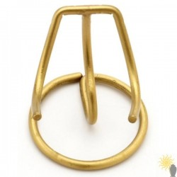 Heart Keepsake Stand (3inch Brass)