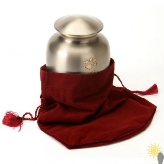 Velvet Urn Pouch (medium)