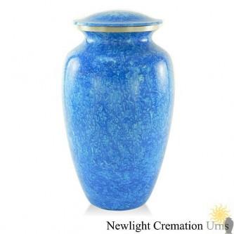 Marbled Blue Urn