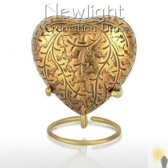 Autumn Gold (3inch Heart)