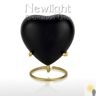 Classic Black (3inch Heart)