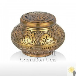Autumn Gold Mini Urn (3inch)