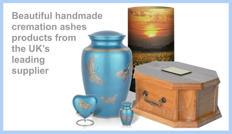 Beautiful handmade cremation ashes products from a leading  UK supplier