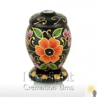 Dog Rose Mini Urn (3inch)