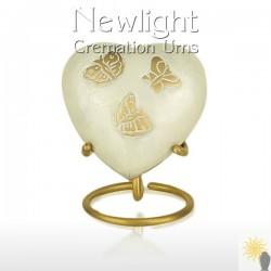Pearl Butterfly (3inch Heart)