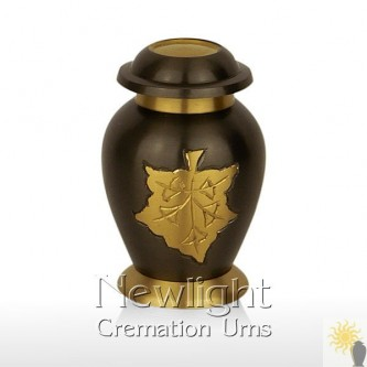 Autumn Leaves Mini Urn (3inch)