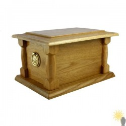 Mardale Oak Ashes Casket