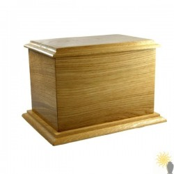 Wessex Oak Ashes Casket
