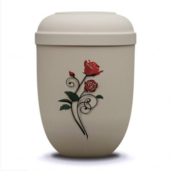 Rambling Rose Bio Urn