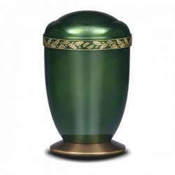 Emerald Wreath Urn