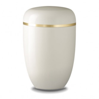 Heavenly Cream Bio Urn