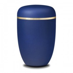 Royal Blue Bio Urn
