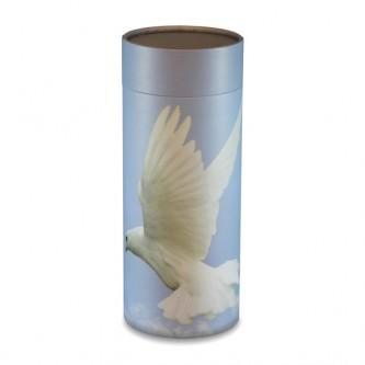 White Dove Scatter Tube - Large