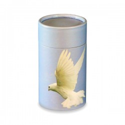 White Dove Scatter Tube - Mini