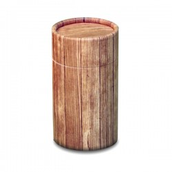 Rustic Wood Scatter Tube - Mini