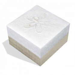 Embrace White Hemp Large Bio Urn