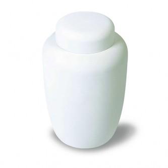 Pure White Cornstarch Bio Urn