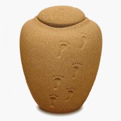 Oceane Sand with Footprints Bio Urn