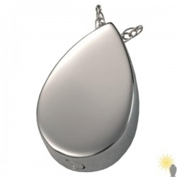 Kensington Teardrop - Sterling Silver Ash Pendant