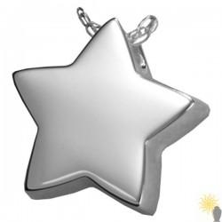 Kensington Star - Sterling Silver Ash Pendant
