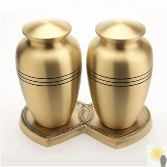 Cheadle Brass Companion Set