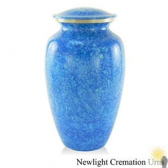 Marbled Blue Urn