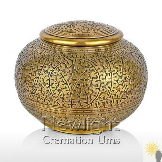 Autumn Gold Urn