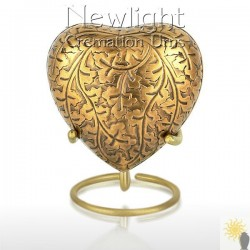 Autumn Gold (3inch Heart)