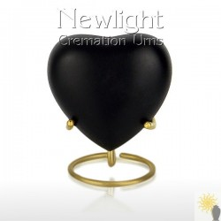 Classic Black (3inch Heart)