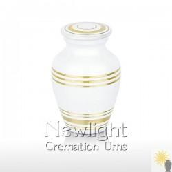 Classic White Mini Urn (3inch)