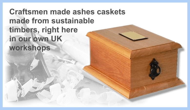 craftsmen made ashes caskets